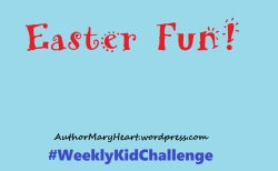 Easter is almost here! For this #WeeklyKidChallenge, let's decorate!