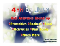 Join us for this #WeeklyKidChallenge, we will be decorating our home, making some fun crafts and foods, watching some entertaining and educational videos, and learning what Independence Day truly is about.